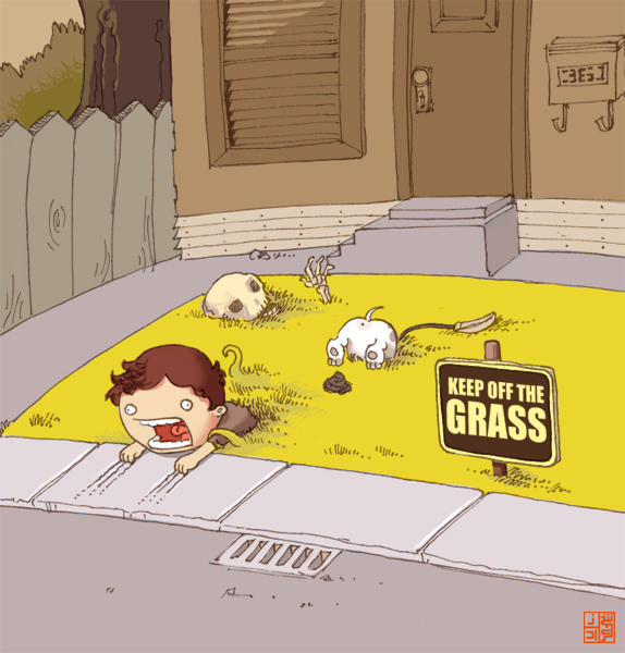 keepoffdatgrass